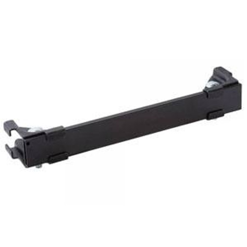 Ladder Rack Runway Termination Kit 12in Black by DAMAC