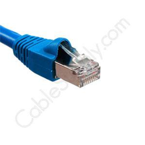 Cat6A Shielded Booted Patch Cords