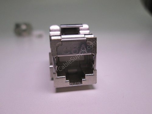 Cat6a Shielded Keystone Computer Jack