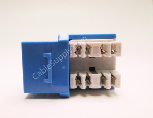 Cat6a 10G RJ45 Keystone Computer Jacks (10 Pack)