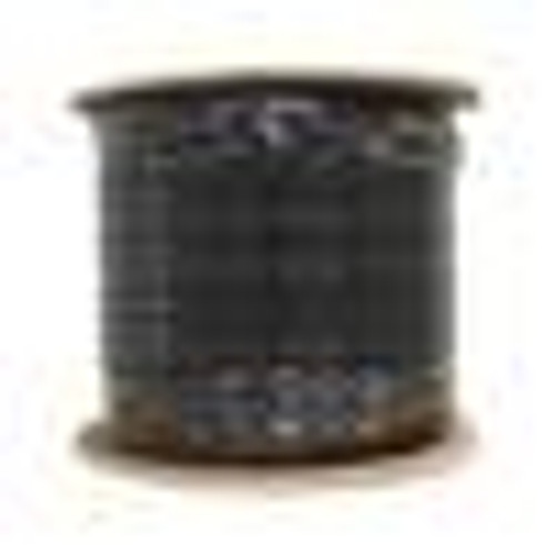 RG59 Coaxial Cable Siamese CCTV CMR/PVC Black 1000ft Bulk Cable