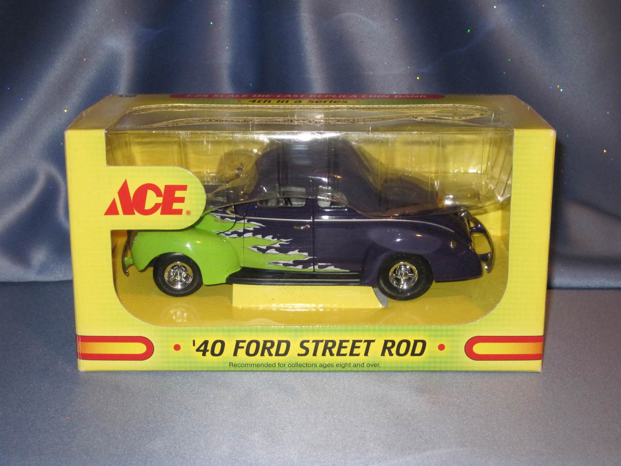 First Gear Ace Hardware 1940 Ford Street Rod Coin Bank - Now and ...