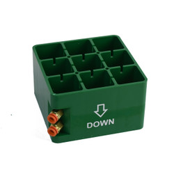 PLASTIC CENTER BLOCK REPLACEMENT for 150x150mm CUP
