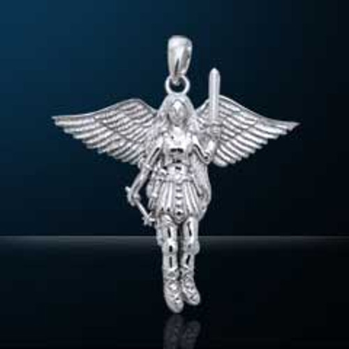 Nebula Tech Metal Angelic Fairy Pendant P-012558