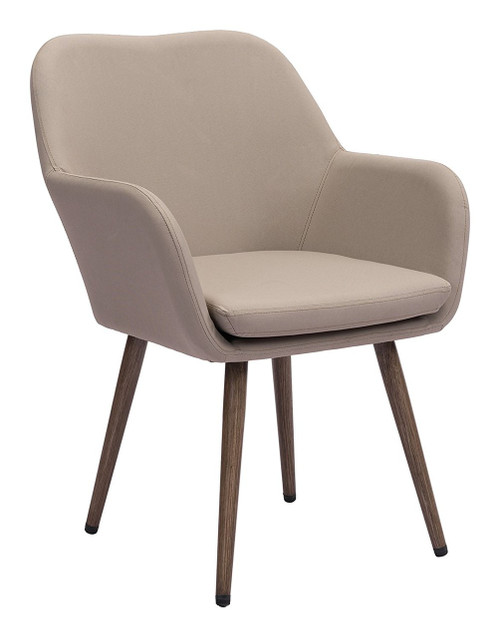 Zuo Modern 703843 Pismo Dining Chair Taupe