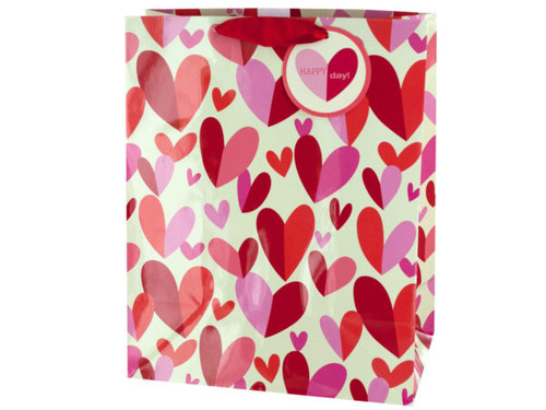 'Happy Day' Hearts Gift Bag