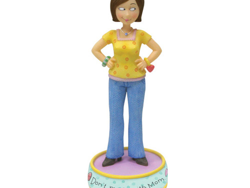 'Don't Mess with Mom' Figurine