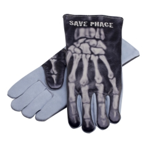 """Bones"" Welding Gloves, Size XL"