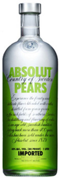 Absolut Pears Vodka 750ml