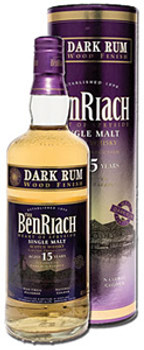 Benriach Scotch Dark Rum 15yr 750ml