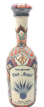 Dos Artes ceramic art bottle Extra anejo