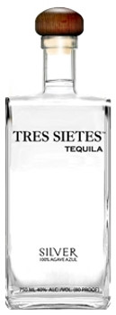 Tres Sietes Silver tequila