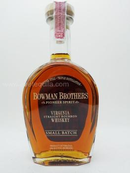 Bowman Brothers Virginia Straight Bourbon Whiskey (Small Batch)