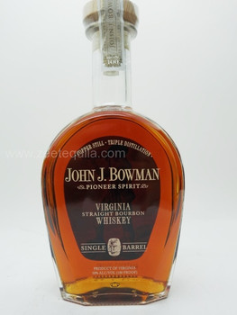 John J. Bowman Virginia Straight Bourbon Whiskey (Single Barrel)