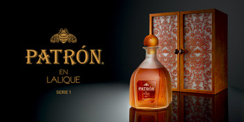 PATRON EN LALIQUE SERIE 1 SHOWN WITH CASE