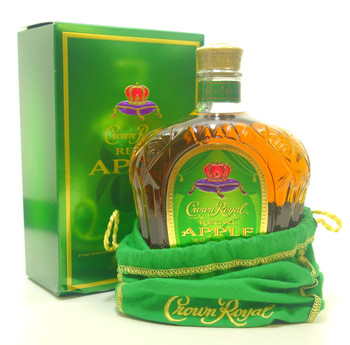 CROWN ROYAL APPLE CANADIAN WHISKY