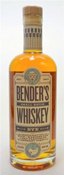 Benders Small Batch Rye Whiskey