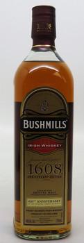 Bushmill's Irish Whiskey 1608 Anniversary Edition