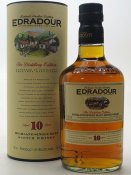 EDRADOUR 10 years Highland Single Malt Scotch Whisky
