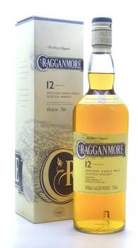 Cragganmore 12 years Speyside Single Malt Scotch Whisky