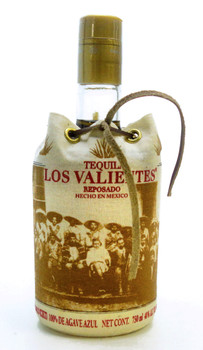 Tequila Los Valientes Reposado N0M 1463 CRT