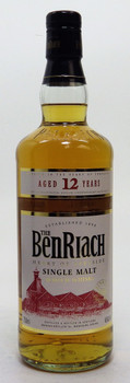 BenRiach Single Malt Scotch Whisky 12