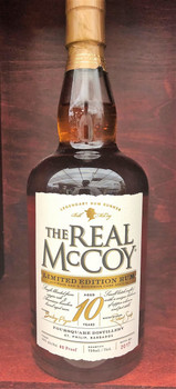 The Real McCoy Limited Edition Rum 10 yeras