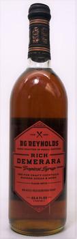 BG Reynolds Rich Demerara Tropical Syrup