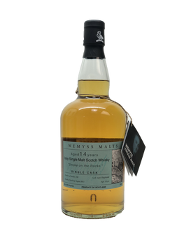 WEMYSS MALTS 14YR ISLAY SINGLE MALT SINGLE CASK SMOKE ON THE ROCKS