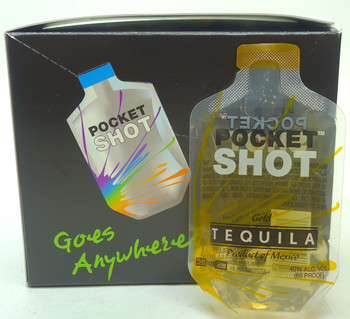 POCKET SHOT GOLD TEQUILA
