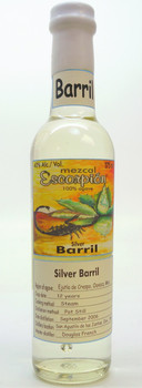 Escorpion Arroqueño Barril Silver Mezcal 375ml