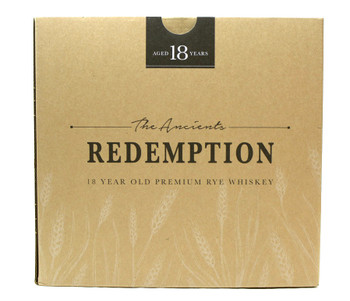Redemption 18yr Rye Whiskey