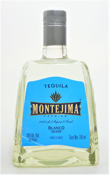 Montejima Blanco Silver Tequila