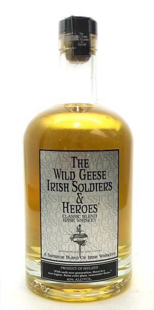 The Wild Geese Irish Soldiers & Heroes Classic Blend Irish Whiskey
