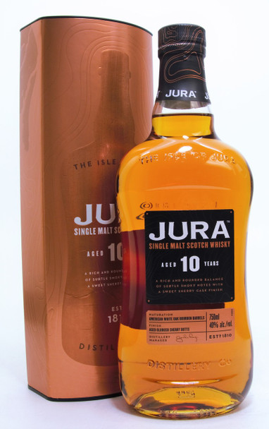 Jura Single Malt Scotch 10 years Whisky