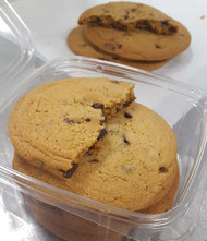 Big, soft & chewy chocolate chip cookies