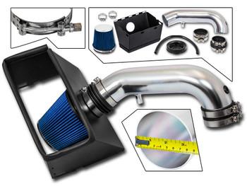 Blue Cold Air Intake Kit for Dodge RAM 1500/2500/3500 (2009-2015) with 5.7L V8 Engine