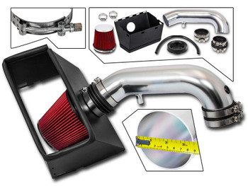 Red Cold Air Intake Kit for Dodge RAM 1500/2500/3500 (2009-2015) with 5.7L V8 Engine