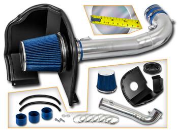 Blue Cold Air Intake Kit for Chevrolet Yukon / XL / Denali (2015-2017) with  5.3L / 6.2L V8 Engine