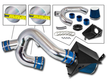 Blue Cold Air Intake Kit  for Ford F150 (2012-2014) with 3.5L V6 EcoBoost Engine