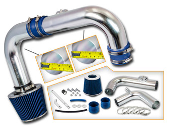 Blue Cold Air Intake Kit for Chevrolet Cruze (2011-2015) with 1.4L DOHC Turbo Engine