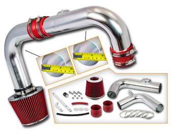 Red Cold Air Intake Kit for Chevrolet Cruze (2011-2015) with 1.4L DOHC Turbo Engine