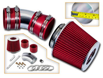 Red Ram Air Intake Kit for Chevrolet Impala (2006-2008) with 3.5L / 3.9L V6 Engine