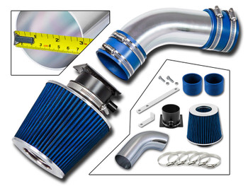 Blue Ram Air Intake Kit for AUDI A6  (1996-2000) with 2.8L V6 Engine