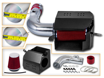 Red Cold Air Intake Kit for Subaru BRZ (2003-2006) with 2.0L 4 Cylinder Engine