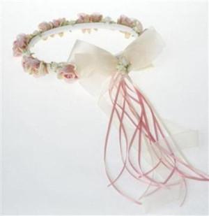 Girls Organza Flower Crown-HB007-02