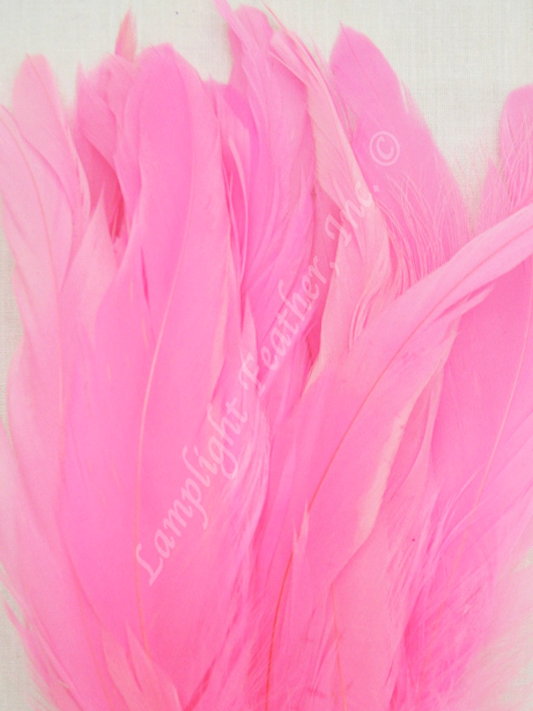 COQUE, 7-10 inch, PINK, per hundred