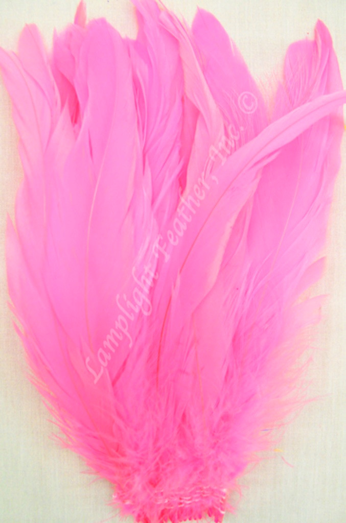 Coque, 7-10 inch, Hot Pink, per hundred
