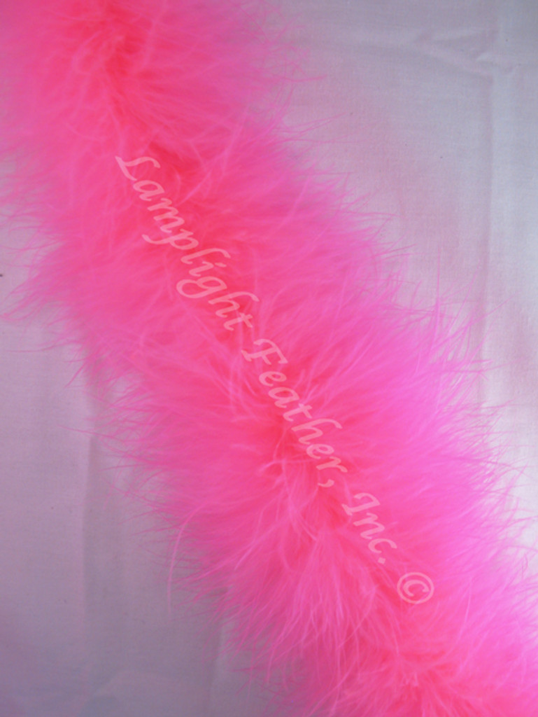 Hot Pink Feather Boa Marabou 20 gram per Two