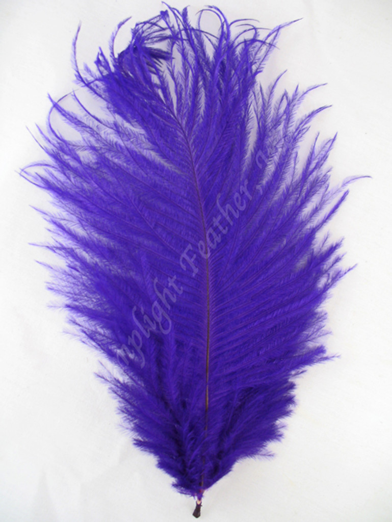 OSTRICH Feathers, MINI, Purple,